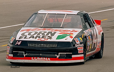 1993 NASCAR TESTING IMS-26