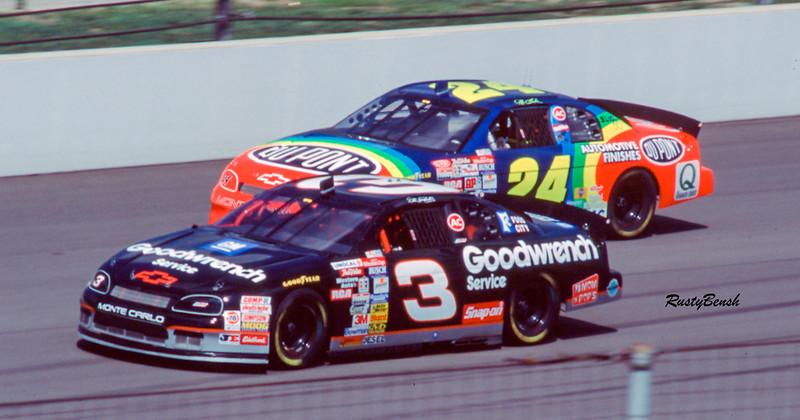 1996NASCAR Tire Test IMS-25