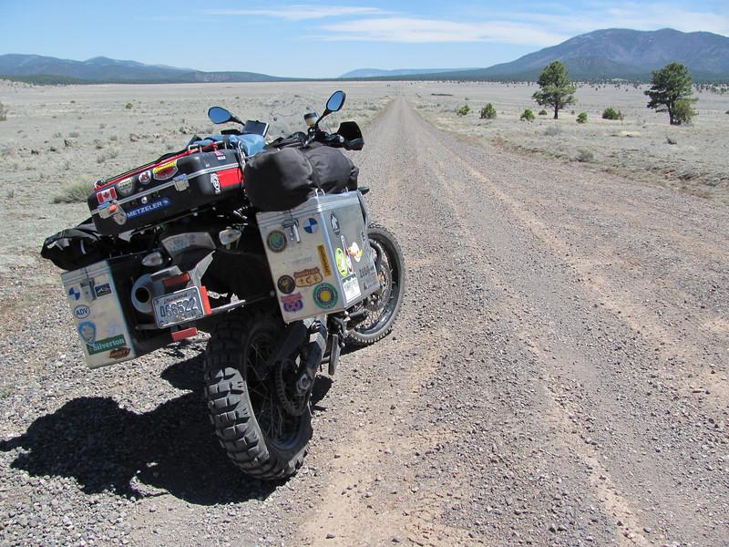 wide open NM forest roads....sweet!