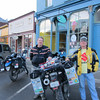 Terry and Keith ... after a downtown beer at HandleBars.  Silverton CO.