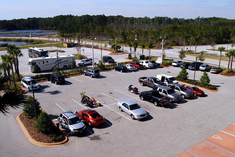 001 J&P Cycles Parking Lot Before Bike Week