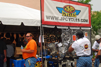 030 J&P Cycles Tent at Leesburg Bike Fest