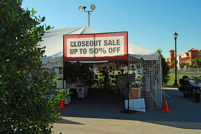 017 J&P Cycles Closeout Tent