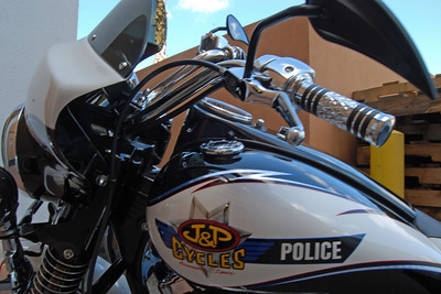 001 J&P Police Bike