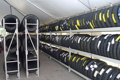0015 Tire Tent set up by George and Mark