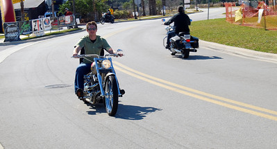 013 Zach on J P Cycles Chopper Bike Week 2009