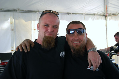 007 Motorcycle Mechanic Twins Bike Week 2009