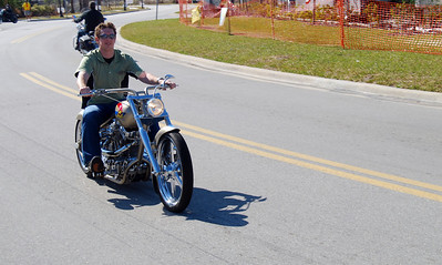 014 Zach on J P Cycles Chopper Bike Week 2009