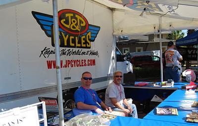 005 J&P Cycles at Leesburg Bikefest 2009 Leesburg Florida