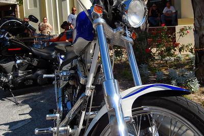 040 Motorcycle on Main St in Leesburg Florida at 2009 Leesburg Bike Fest