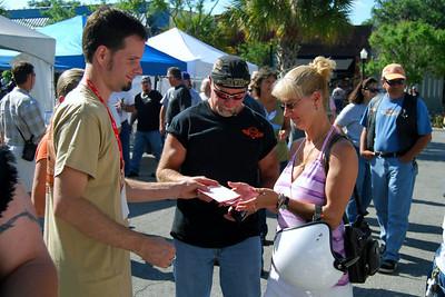 015 J&P Cycles at Leesburg Bikefest 2009 Leesburg Florida