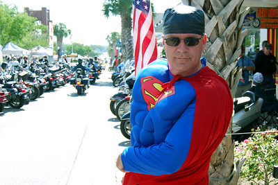 046 Even Superman enjoyed the 2009 Leesburg Bike Fest