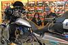 005 Customers Looking at Display Bike at J&P Cycles Florida Superstore