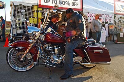 028 Bike Week Customer with new Rocker Boards