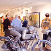 2 Wheels + Motor: A Fine Art Exhibition dedication, July 18, 2013 at the AMA Motorcycle Hall of Fame. Photo by Jeff Guciardo/American Motorcyclist Association.