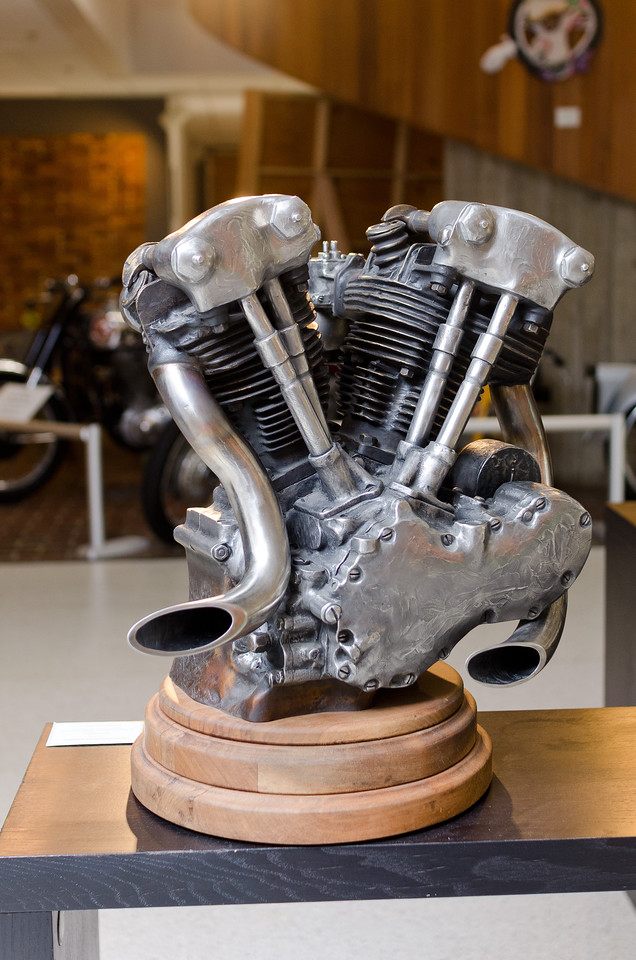 "<div style=""text-align:left !important""> <h2>""Knucklehead Engine"" by Jeff Decker</h2> <br> </div>"