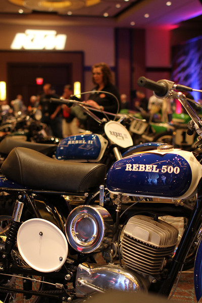 The 2012 Dave Mungenast Memorial Motorcycle Hall of Fame Concours d'Elegance. The event is part of the American Motorcyclist Association Legends Weekend, powered by Paul Thede's Race Tech, held November 17 at the Red Rock Casino, Resort and Spa in Las Vegas. Photo credit: Jeff Guciardo/American Motorcyclist Association.