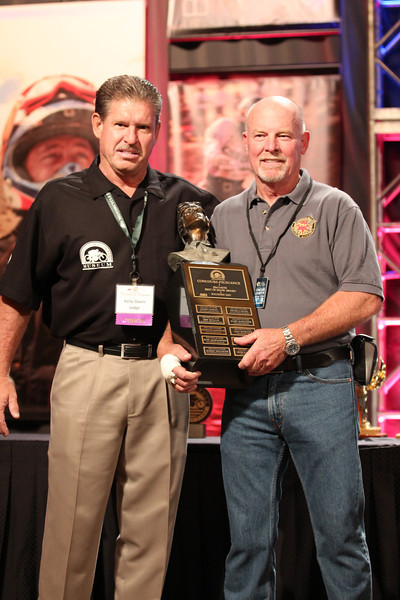 The 2012 Dave Mungenast Memorial Motorcycle Hall of Fame Concours d'Elegance. The event is part of the American Motorcyclist Association Legends Weekend, powered by Paul Thede's Race Tech, held November 17 at the Red Rock Casino, Resort and Spa in Las Vegas. Photo credit: Jen Muecke/American Motorcyclist Association.