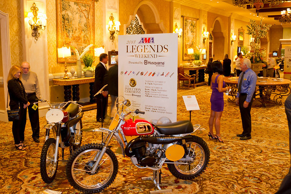 2013 AMA Legends Weekend, Presented By Husqvarna