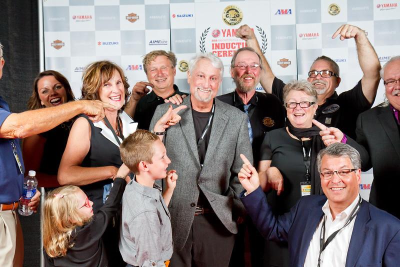 Hall of Fame VIP Reception, presented by Suzuki. Saturday, Oct. 17, 2015 in Orlando, Fla.  Photo by Jeff Guciardo/American Motorcyclist Association.