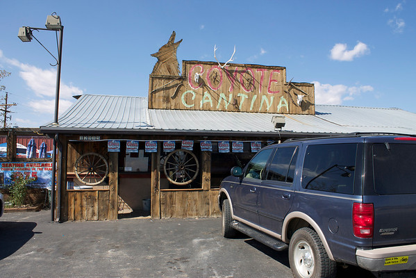 Coyote Cantina, great food and drink