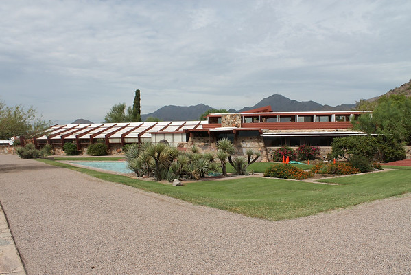 The Frank Lloyd Wright museum