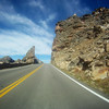 Riding through the Rocky Mountains