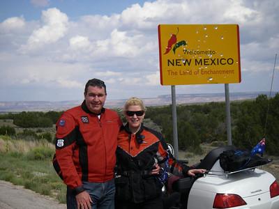 Arizona / New mexico Border Hwy 61