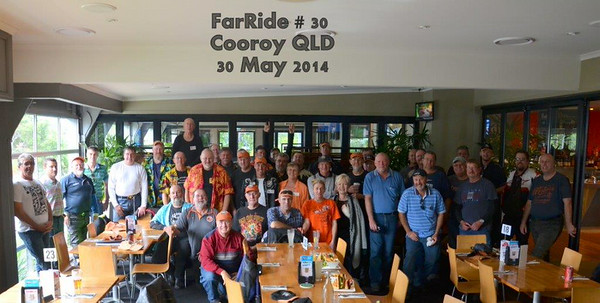 FarRide 2014 and Iron butt ride 1600km in 24