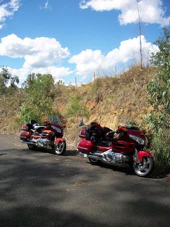 Ride to cann river with Craig