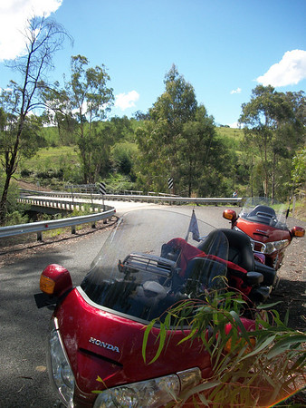 Ride to cann river VIC  March 2011