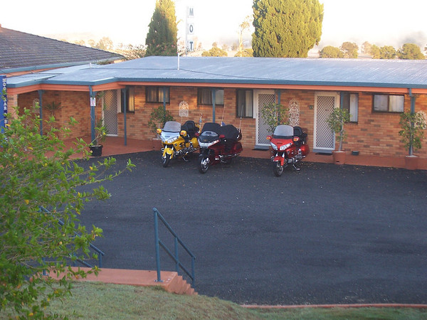 Overnight stay at Grafton on the way to AGM