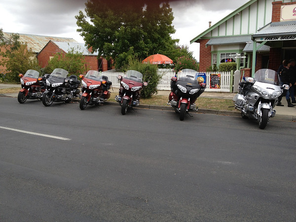 March 2013 ride