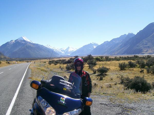 leaviing Mt Cook