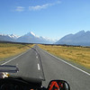 Riding into MT Cook 2