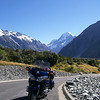 Looking back at Mt Cook from car park