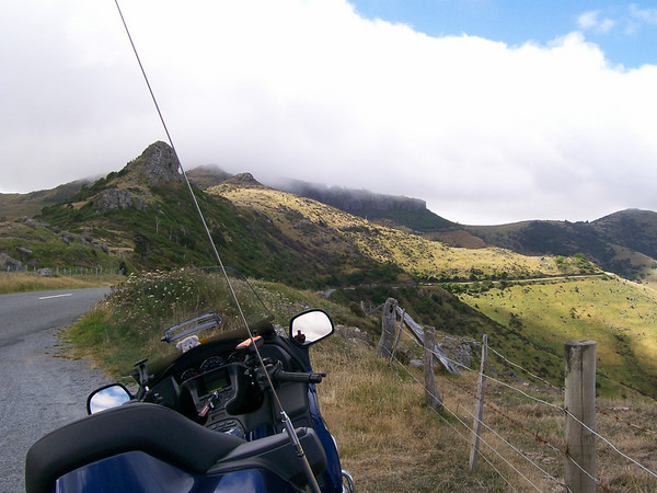 Road into Akaroa