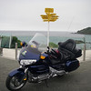 The bike at the end of the world Bluff NZ