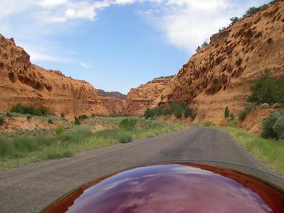 Burro Road, Boulder Utah