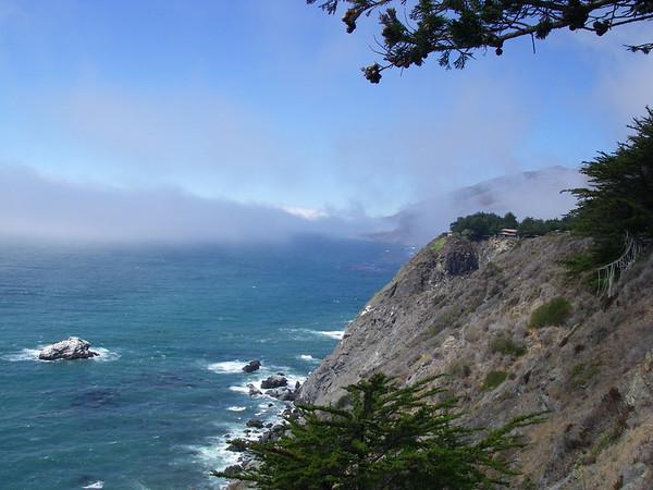 Coast line on Hwy 1