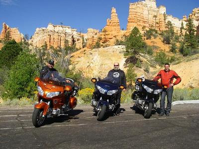 Dave, Clint and John - Bryce Canyon Utah.