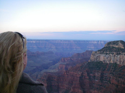 Sunrise - North Rim Grand Canyon.