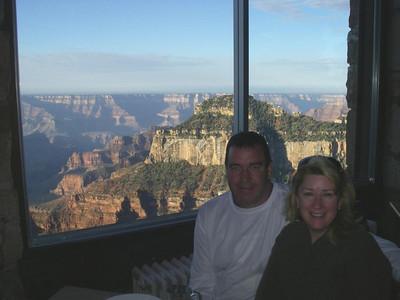Breakfast North Rim Grand Canyon.