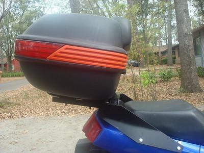 Custom Ninja 250 rack