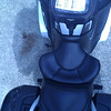 General pic of Russell Seat on RT from rear of bike.