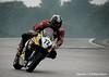 #72 racing in the fog