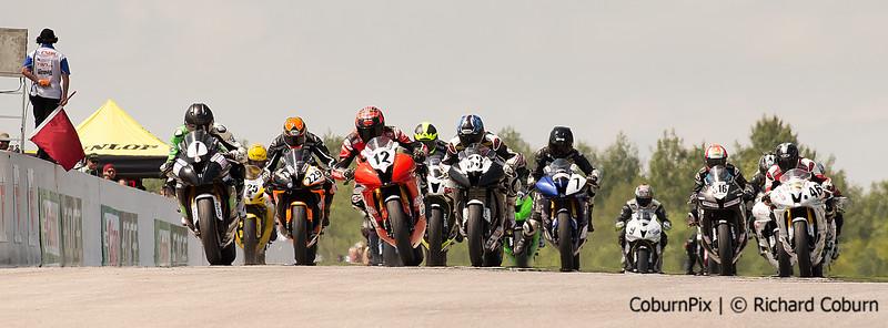 #12 Pro Sportbike Start