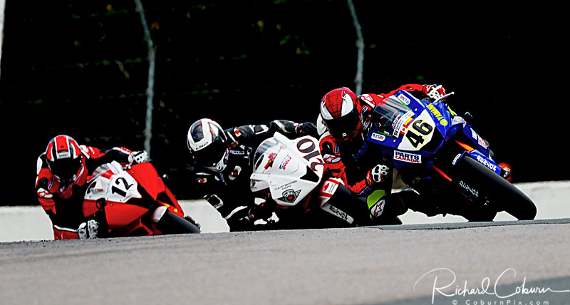 #46 leads the pack
