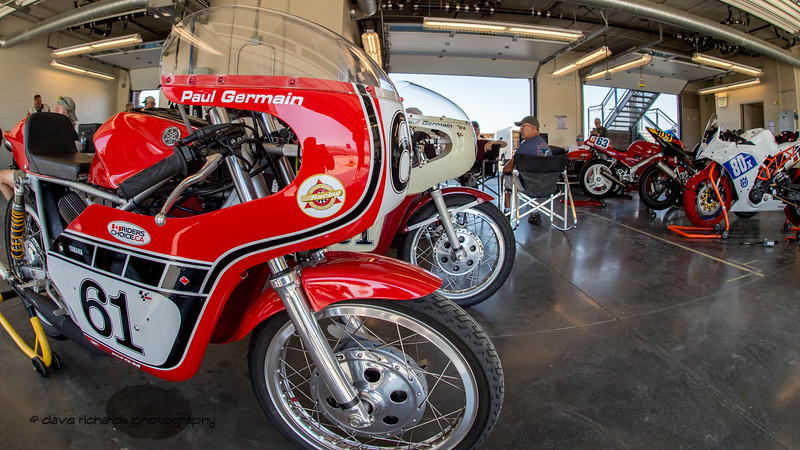 2018 Bonneville Vintage GP Motorcycle Races (Photo by Dave Richards, daverphoto.com)
