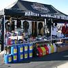 Harley Davidson of Tucson vendor tent at Arroyo Seco Raceway - ASMA Races - 11/13/2005